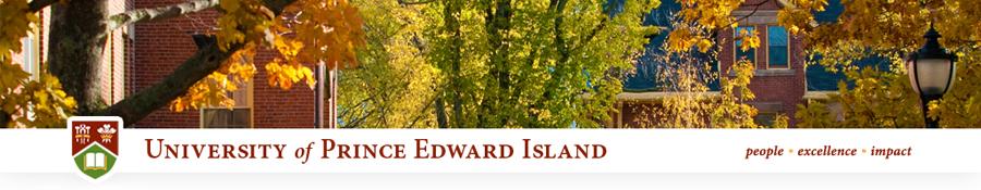 University of Prince Edward Island, UPEI, Charlottetown, PE, Canada
